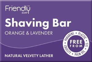 Friendly Soap Shaving Soap Cruelty & Plastic Free