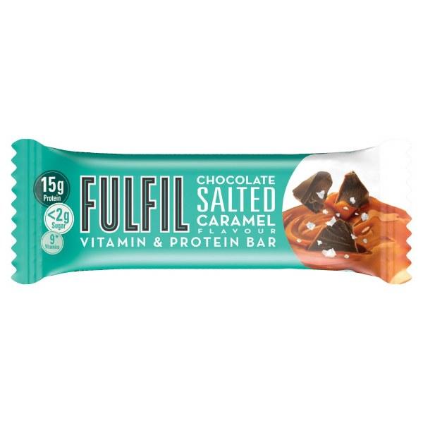 Fulfil Chocolate Salted Caramel Protein Bar - 40g