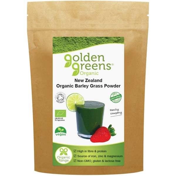 Golden Greens Organic Barley Grass Powder - 200g