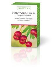 Jan de Vries Hawthorn Garlic Complex - 90 Capsules