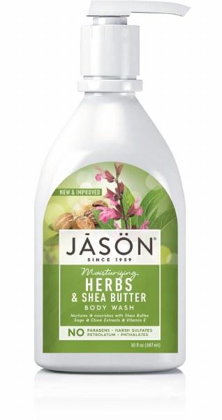 Jason Moisturising Herbs & Shea Butter Body Wash - 887ml