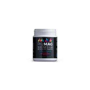 Prizmag Pure Magnesium Bisglycinate Capsules | No Stearates or Fillers