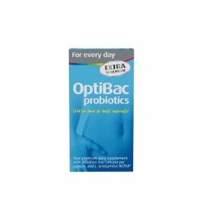 OptiBac Probiotics For Every Day Extra Strength Formula - 90 Capsules