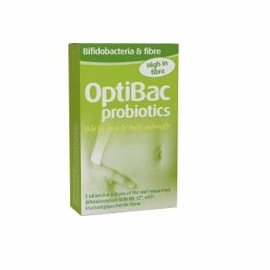 OptiBac Probiotics Bifidobacteria & Fibre - 10 Sachets