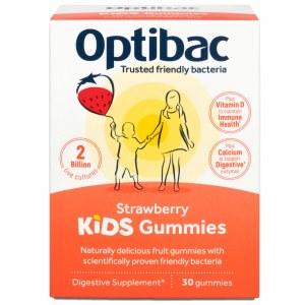 Optibac Kids Gummies - 30 Fruit Gummies