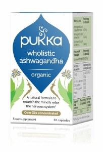 Pukka Wholistic Ashwagandha Capsules - 30 Organic Capsules