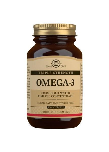 Solgar Omega 3 Triple Strength - 100 Softgels