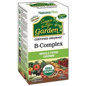 Source of Life Garden Organic Vegan Whole Food Grown Vitamin B-Complex