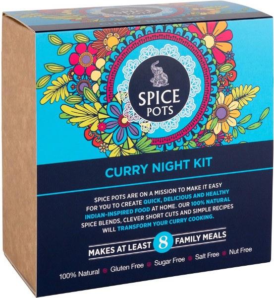Spice Pots Curry Night Kit - 4 x 40g