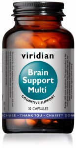 Viridian Brain Support Multi - 60 Capsules   Cognitive Support