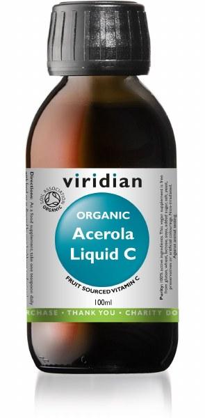 Viridian Organic Acerola Liquid C - 100ml