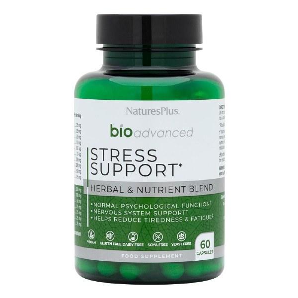 Nature's Plus BioAdvanced Stress Support - 60 Capsules