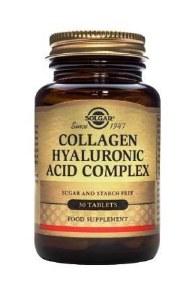 Solgar Collagen Hyaluronic Acid Complex | 30 Tablets