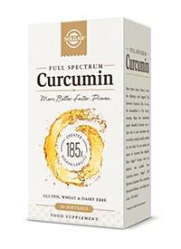 Solgar Curcumin Softgels - Bottle of 30