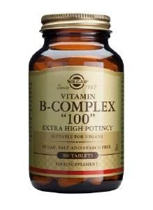 Extra High Potency Vitamin B-Complex 100mg 100 capsules