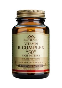 High Potency Vitamin B-Complex 50mg 100 Capsules