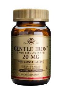 Gentle Iron Bisglycinate 20mg Capsules