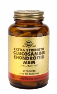 Extra Strength Glucosamine Chondroitin & MSM Tablets