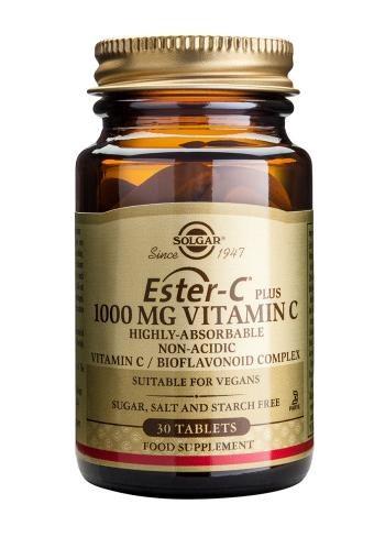 Solgar Ester-C Plus 1000mg Vitamin C - 90 Tablets