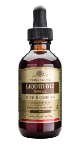 Sublingual Liquid B12 2000ug with B Complex