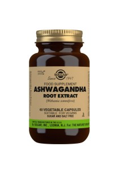 Solgar Ashwagandha Root Extract - 60 Capsules