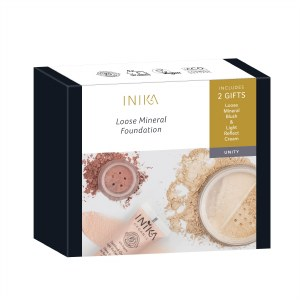 Inika Matte & Flawless Loose Mineral Foundation Set - Unity