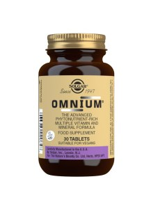 Solgar Omnium Tablets - Bottle of 30