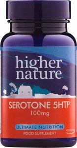 Higher Nature 5HTP Capsules 100mg - Bottle of 30