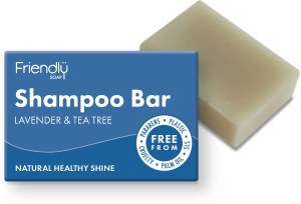 Friendly Soap Shampoo Bar - Lavender & Tea Tree 95g