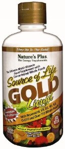 Source of Life Liquid Gold Ultimate Multi Vitamin with Whole Food Concentrates