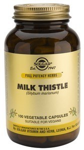 Solgar Milk Thistle Full Potency 100mg Capsules