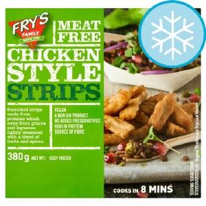 Fry's Meat Free Chicken Style Strips 380g | Frozen