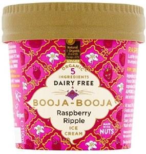 Booja Booja Organic Raspberry Ripple Ice Cream - 100ml