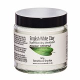 Amour Natural English White Clay 50g - For Dry or Sensitive Skin