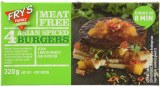 Fry's Meat Free Asian Spiced Burgers 320g | Frozen