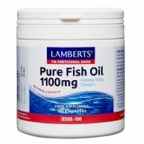 Lamberts Pure Fish Oil 1100mg | 180 Capsules