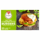 Fry's Meat Free Chicken Style Burgers x 4 | Frozen