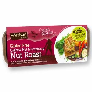 Artisan Grains - Cashew & Cranberry Nut Roast - 200g