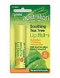 Org Tea Tree Lip Balm SPF15