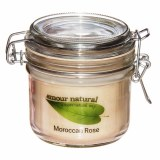 Amour Natural Plant Wax Candle Moroccan Rose