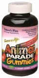 Animal Parade Children's Chewable Multivitamin & Mineral Gummies - Natural Assorted flavour