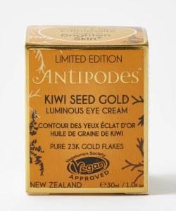Antipodes Kiwi Seed Gold Luminous Eye Cream - 30ml