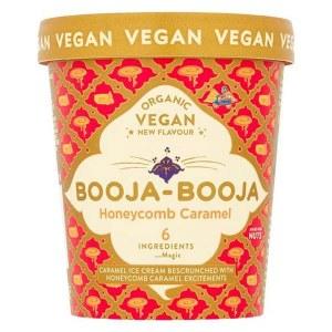 Booja Booja Ice Cream - Honeycomb Caramel 500ml