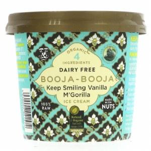 Booja Booja Ice Cream - Keep Smilin' Vanilla McGorilla 110ml