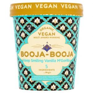Booja Booja Ice Cream - Keep Smilin' Vanilla McGorilla 500ml