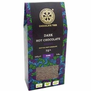 Chocolate Tree Organic Dark Hot Chocolate Flakes - 150g