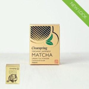 Clearspring Ceremonial Grade Matcha Green Tea Powder - 30g