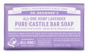 Dr. Bronner's Pure Castile Soap Bar - Lavender
