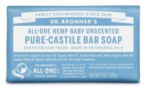 Dr. Bronner's Organic Baby Mild Soap Bar