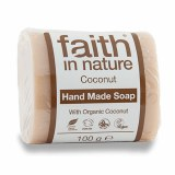 Faith in Nature Hand Made Coconut Soap Bar | Plastic Free
